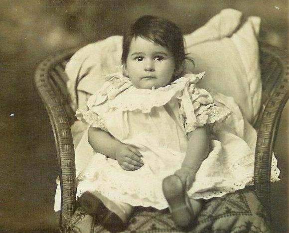 Mary BRINE nee MAPLESDEN Aged 1