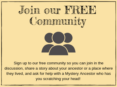 Free genealogy community