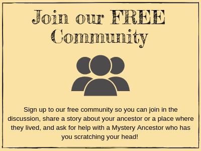 Free genealogy community
