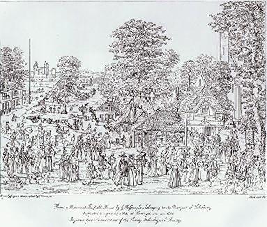 Horsleydown, Bermondsey, London in the Late 19th Century