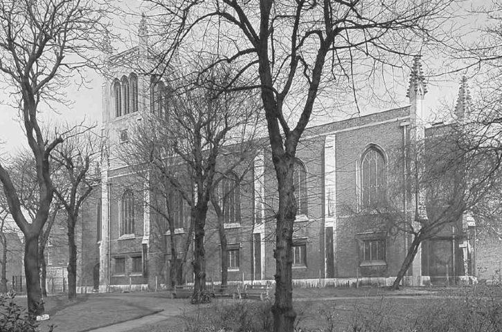 St Mark's Church, Myddelton Square, Clerkenwell, London