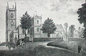 St Andrew's Church Clifton c 1822