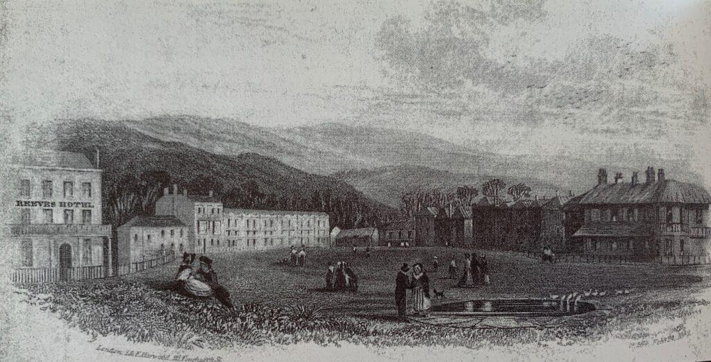 Weston-super-Mare's original Hotel c1842
